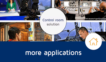 Tailor made solutions for your control room application